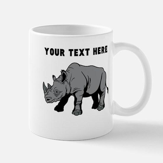 Custom Baby Rhino Mugs