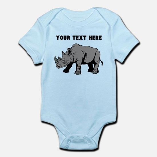 Custom Baby Rhino Body Suit