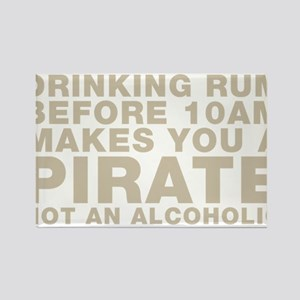 Drinking Rum Before 10am Makes You A Pirate Magnet
