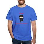 Ninja Construction Manager Dark T-Shirt