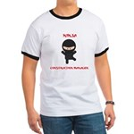Ninja Construction Manager Ringer T