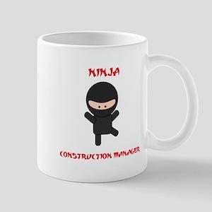 Ninja Construction Manager Mug