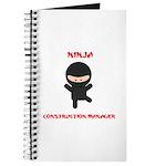 Ninja Construction Manager Journal