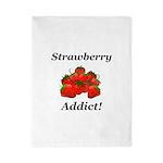 Strawberry Addict Twin Duvet