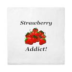 Strawberry Addict Queen Duvet