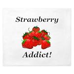 Strawberry Addict King Duvet