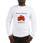 Strawberry Addict Long Sleeve T-Shirt