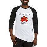 Strawberry Addict Baseball Jersey