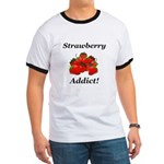 Strawberry Addict Ringer T