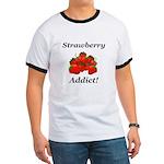 Strawberry Addict Ringer T
