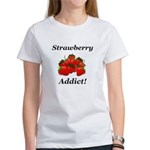 Strawberry Addict Women's T-Shirt