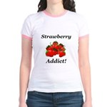 Strawberry Addict Jr. Ringer T-Shirt