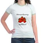 Strawberry Addict Jr. Ringer T-Shirt