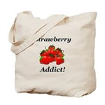 Strawberry Addict Tote Bag