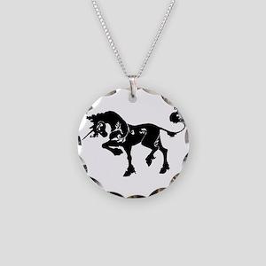 Filigree Unicorn Necklace