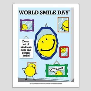World Smile Day 2017 Small Poster