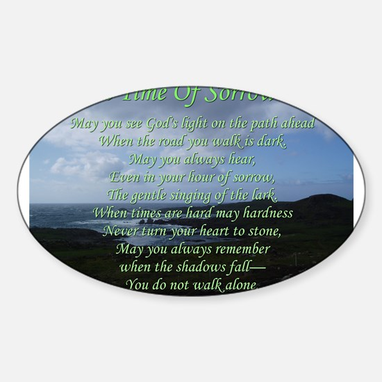 In Time of Sorrow Decal