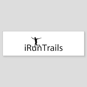 iRunTrails Bumper Sticker