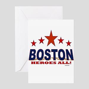 Boston Heroes All! Greeting Card