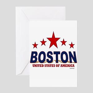Boston U.S.A. Greeting Card