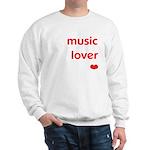 Music Lover   Sweatshirt