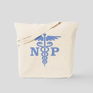 Caduceus NP (blue) Tote Bag