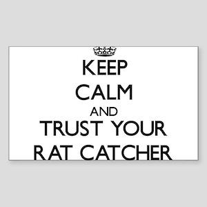 Keep Calm and Trust Your Rat Catcher Sticker