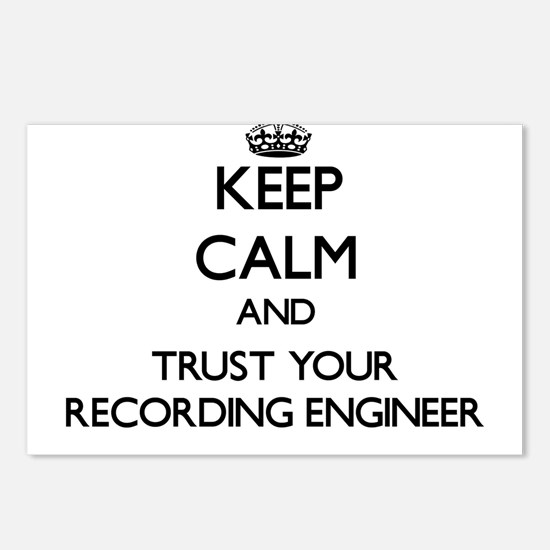 Keep Calm and Trust Your Recording Engineer Postca