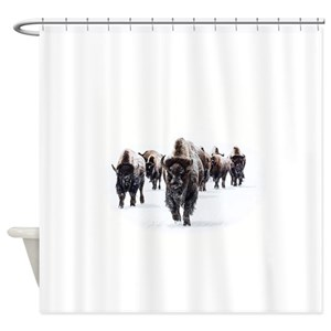Buffalo Shower Curtains