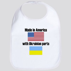 Made In America With Ukrainian Parts Bib