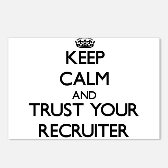 Keep Calm and Trust Your Recruiter Postcards (Pack