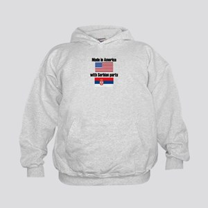 Made In America With Serbian Parts Hoody