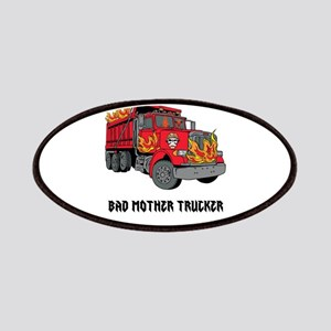 BAD MOTHER TRUCKER!!! Patches