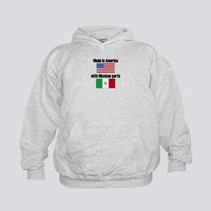 Made In America With Mexican Parts Hoody