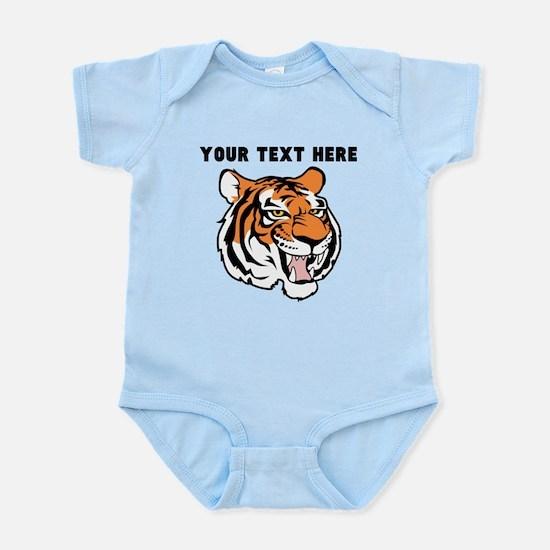 Custom Tiger Head Body Suit