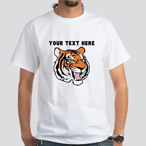 Custom Tiger Head T-Shirt