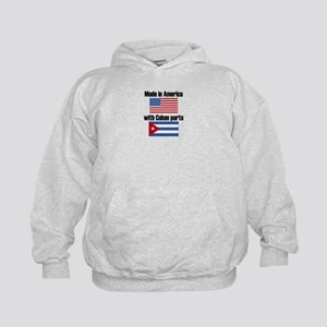Made In America With Cuban Parts Hoody