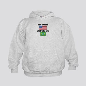 Made In America With Brazilian Parts Hoody