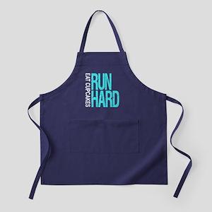 Run Hard Eat Cupcakes Apron (dark)