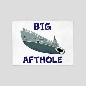 Big Afthole 5'x7'Area Rug