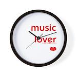 Music Lover   Wall Clock