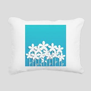 Pretty Flowers Rectangular Canvas Pillow