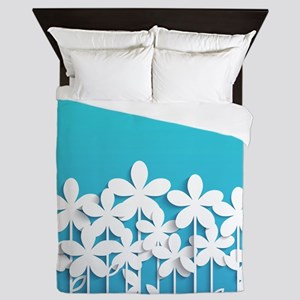 Pretty Flowers Queen Duvet