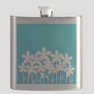 Pretty Flowers Flask