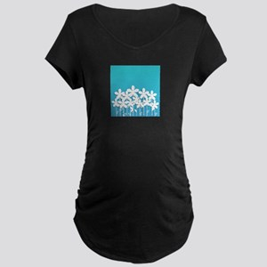 Pretty Flowers Maternity T-Shirt