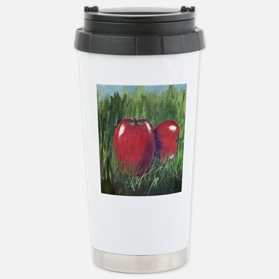 Two Apples Travel Mug
