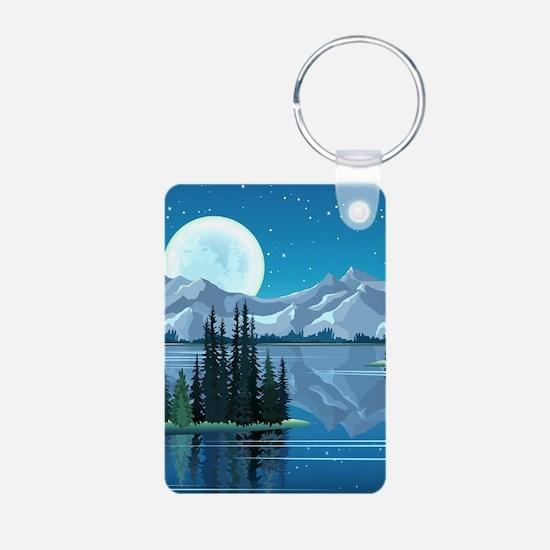 Mountain Sky Keychains