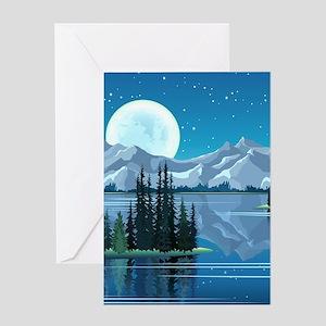 Mountain Sky Greeting Cards