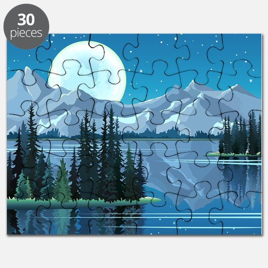 Mountain Sky Puzzle