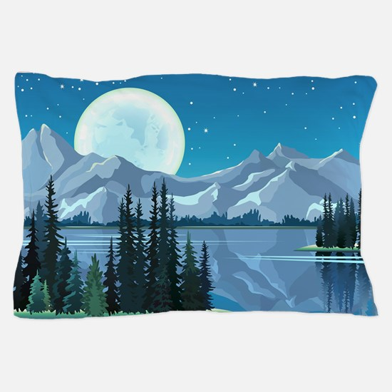 Mountain Sky Pillow Case